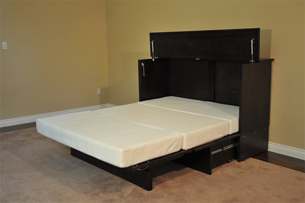 cabinet bed not only can help you save the space also its comfortable